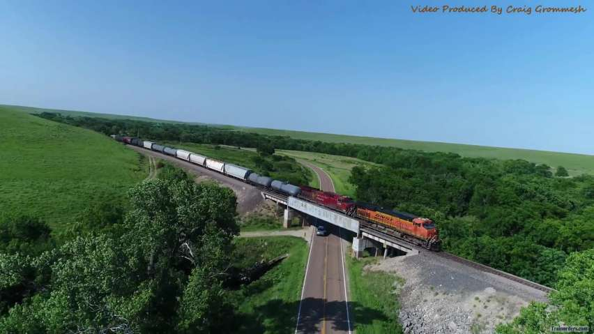 Gateway to the Flint Hills of Kansas Drone Video!