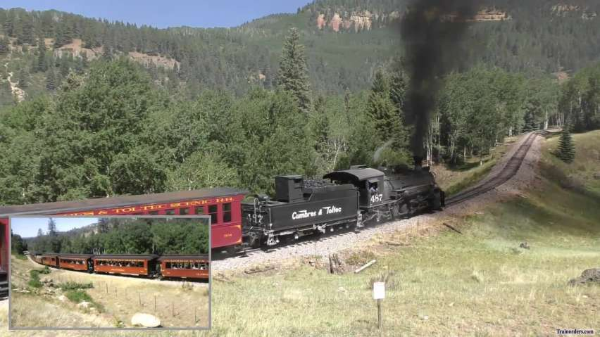 C&TSRR = Eastbound Lobato Lake Air & Ground