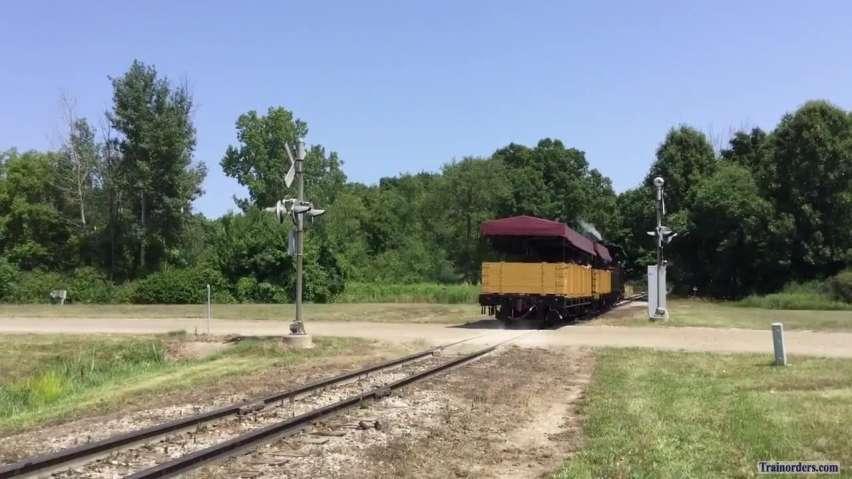 2018 Railfan Weekend at the Huckleberry RR Flint, Michigan