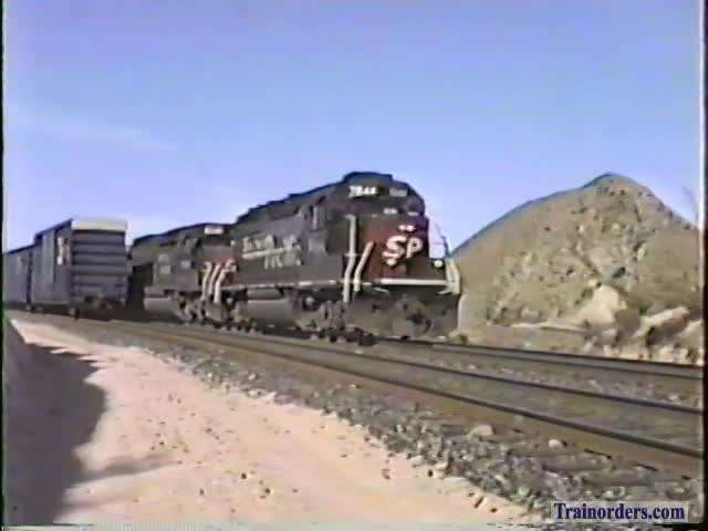 SP 7644East  At Canyon in Cajon Pass