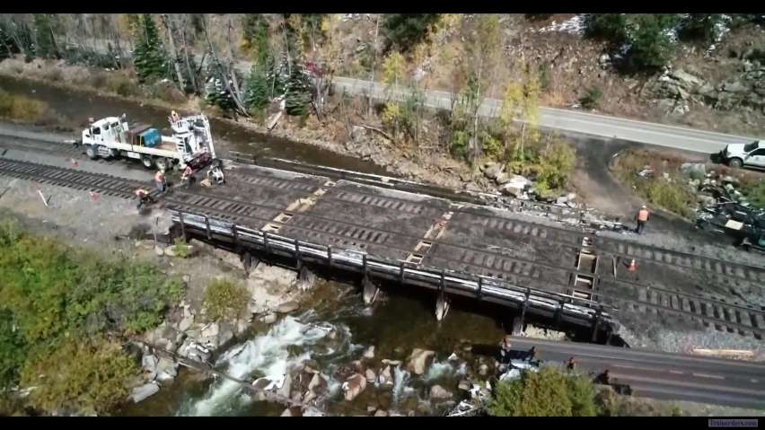 Bridge Replacement at Pinecliffe, CO