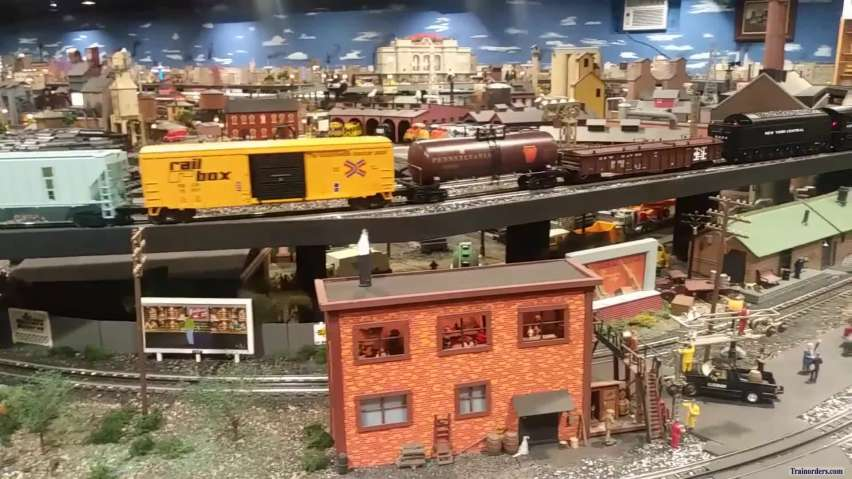 POV of Corner Field Model Railroad Museum - Whole View!!!