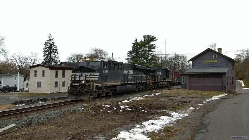 NS 66Z at Three Bridges, NJ - Nov. 18th, 2018