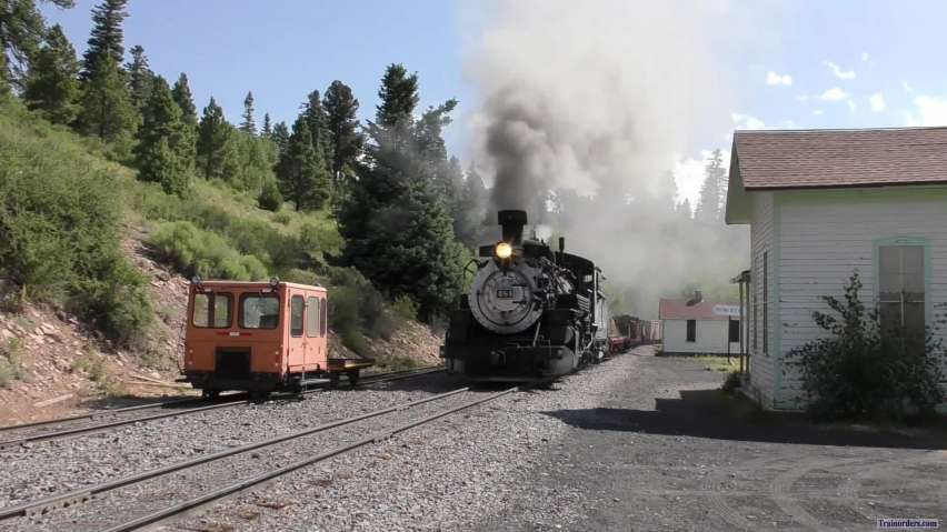 C&TSRR = Arrival At Sublette = Freight