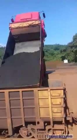 A new way to load an ore car ( Brazil)