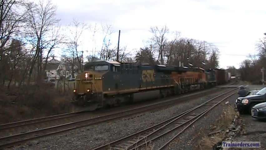 Conrail Shared Assets Lehigh Line 12/29/18