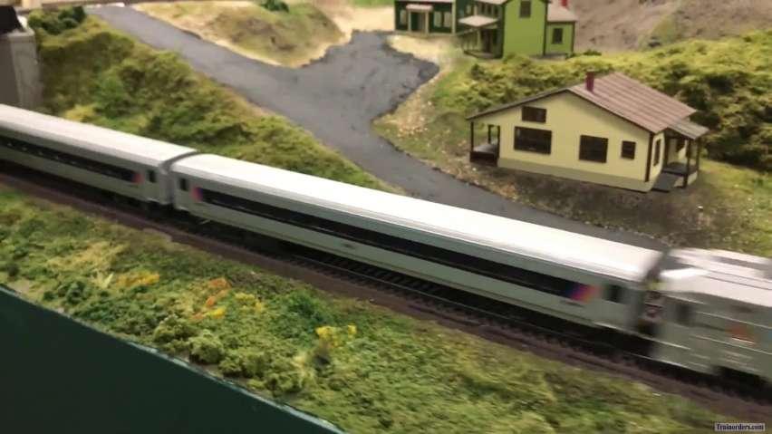 PTC on my model railroad