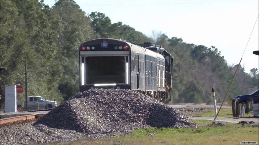 CSX Track Geometry train with a new baggage car?
