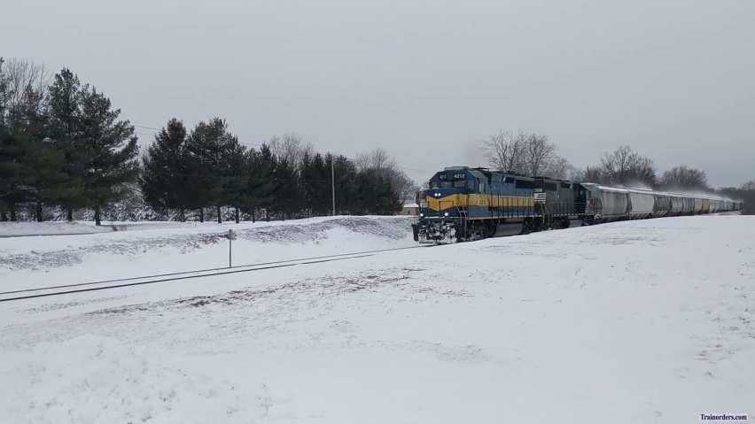 WATCO Snow Train in Illinois