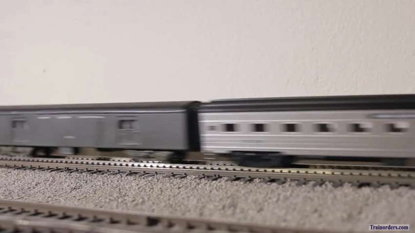Piddly PC passenger trains in N Scale