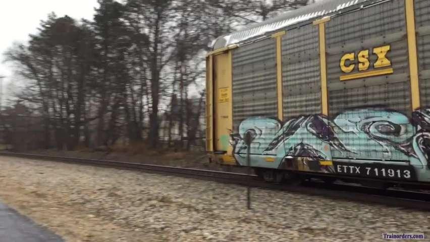 CN Train 504 1/15/19