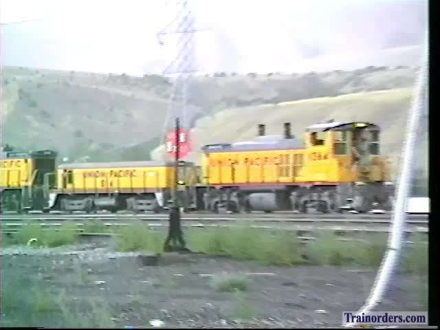 Idaho Files: Pocatello Yard Power+EIRR + Stormy Weather 7-28-1994