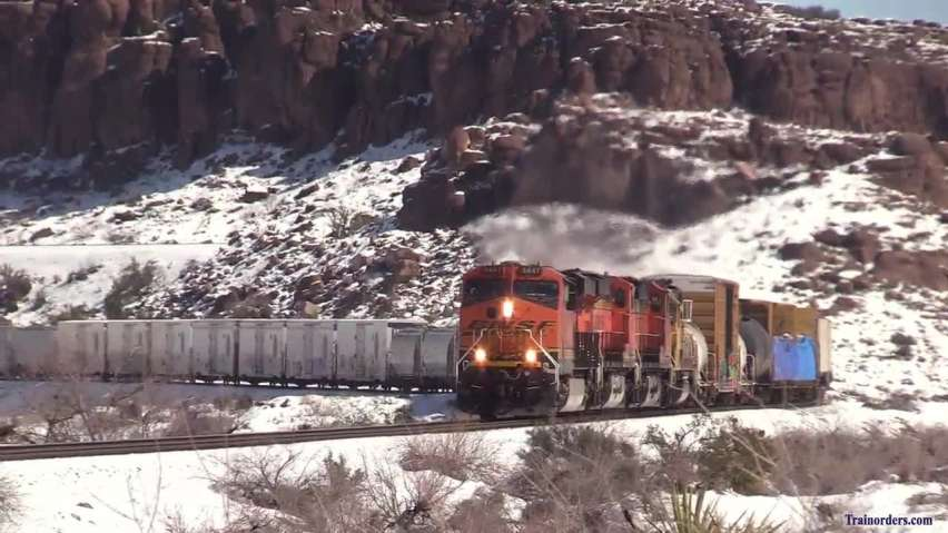 seligman sub snow#6: w/b manifest w/end of the canyon