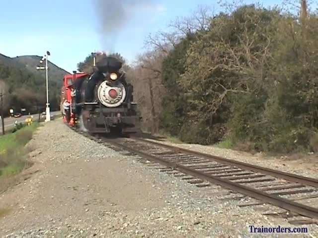Robert Dollar 2-6-2 #3 Back In Action On NCRY