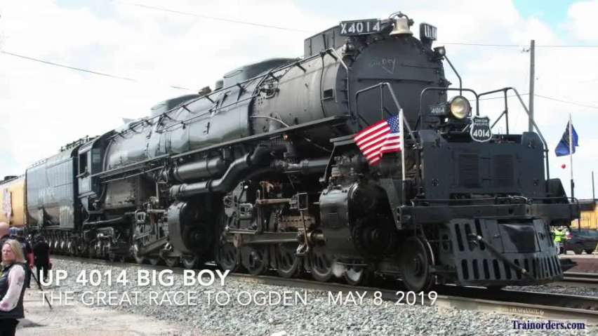 Big Boy storming into Utah