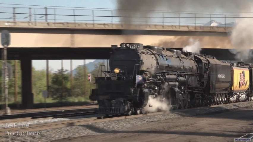 Union Pacific 4014 - King of the West (Part 1)