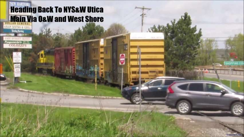 """""""On The West Shore and O&W"""" NYS&W Utica Branch"""