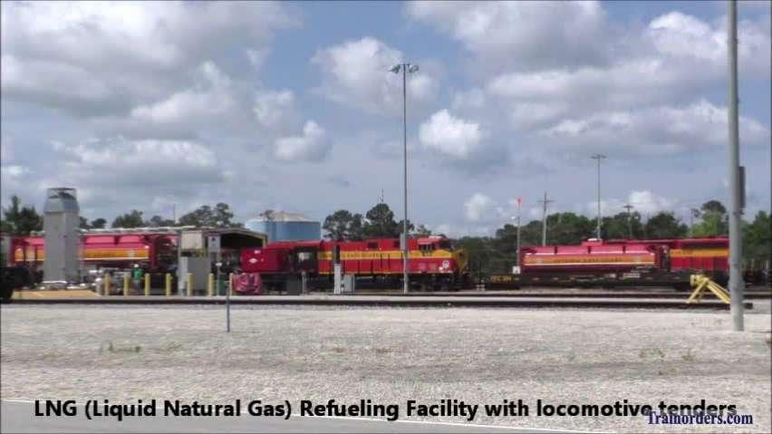 FEC Bowden Yard - LNG Refueling Station