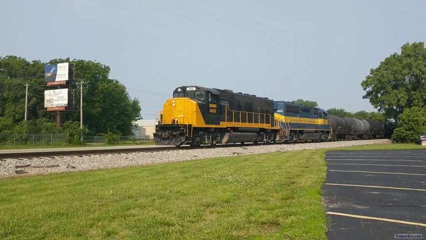 Decatur & Eastern Illinois RR Eastbound