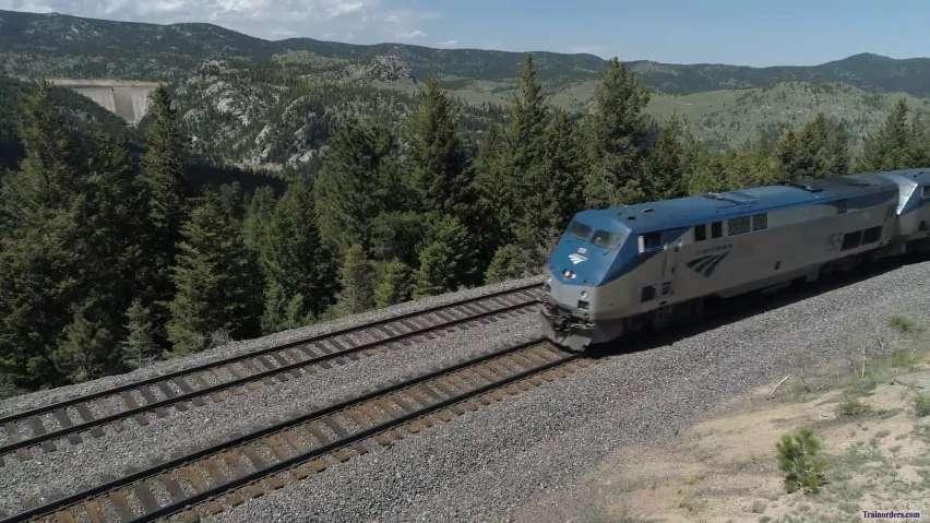 Amtrak AEM-7's to CalTrain 6 June 2019