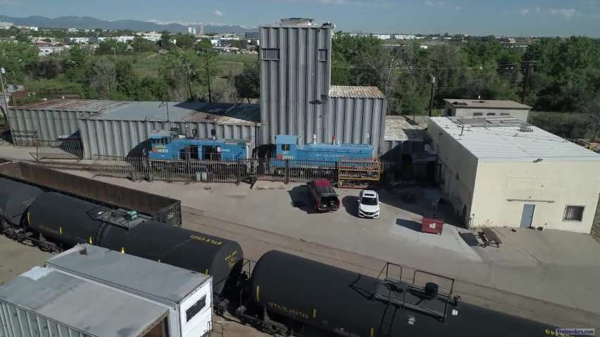 Denver Rock Island RR Stockyards Power