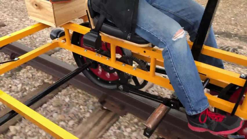 First new handcar design in over 100 years