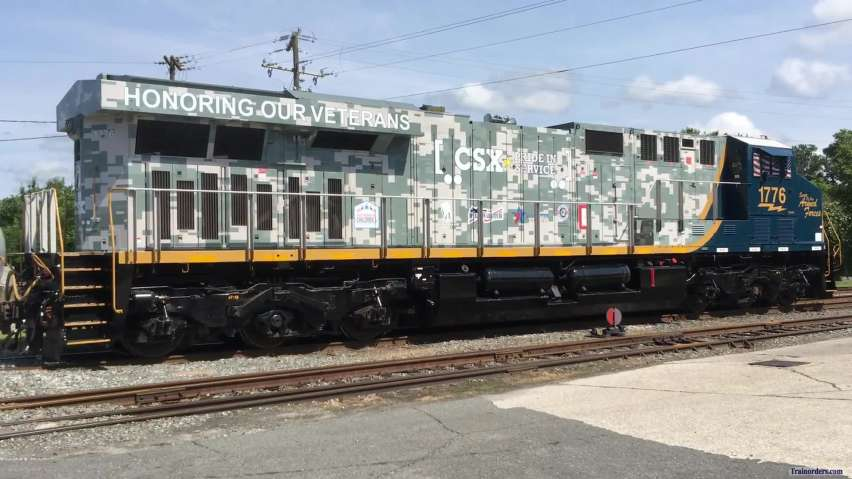 CSX 1776, CSX 911 & NS 911 all in one place
