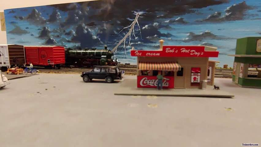 Scenes from the Cheyenne Layout