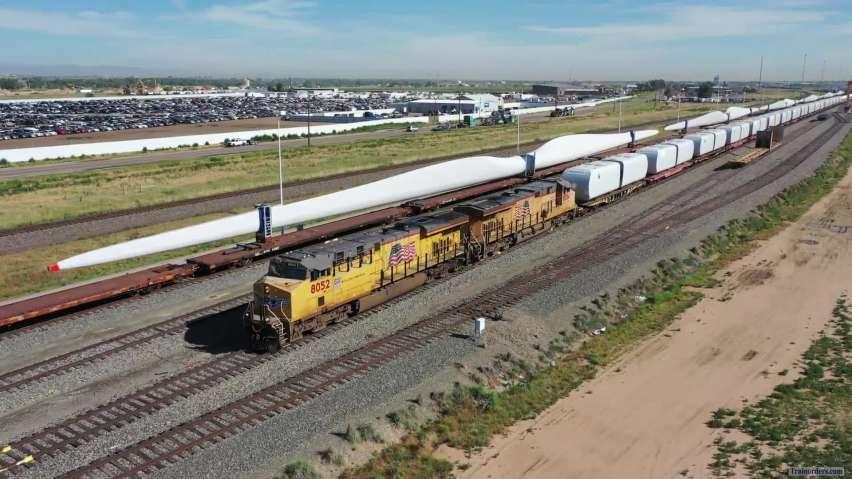 UP Vestas Wind Energy Train 28 June 2019