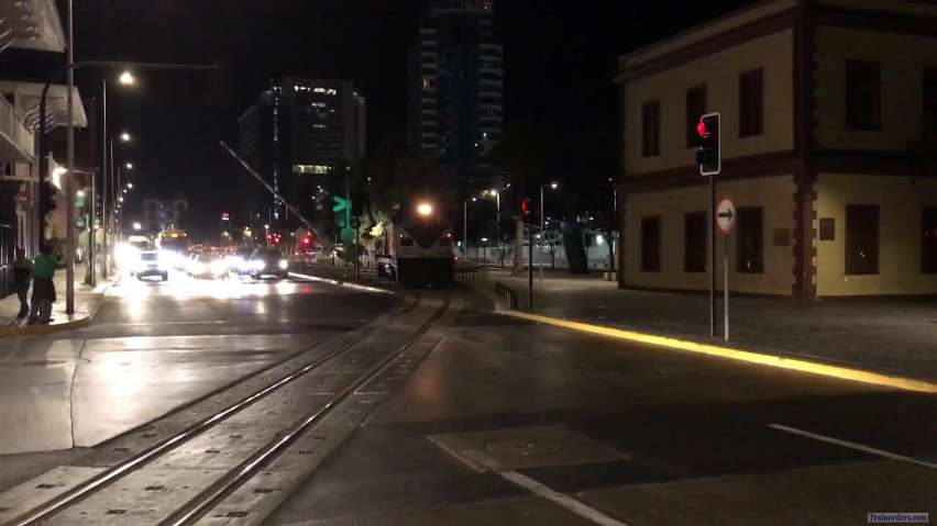 FCAB Freight Trucked GA8 Switcher at Night