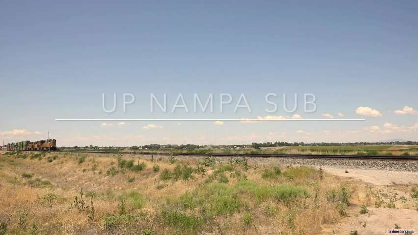 UP Nampa Sub - Eastbound Stacker