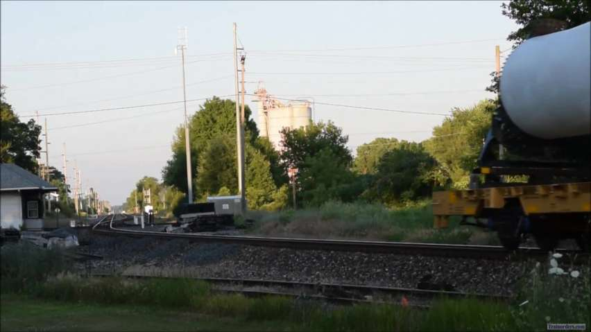 UP 8996 West July 12, 2019 - Loaded with Windmill Blades