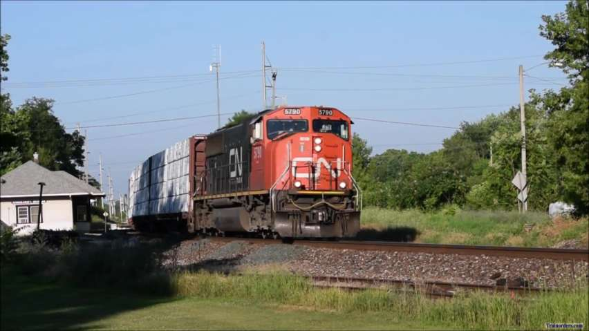 CN 5790 West, Friday, July 12, 2019