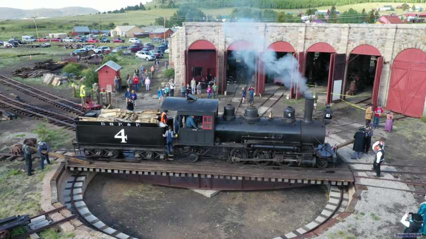 Klondike Kate #4 on Como Turntable 17 Aug 2019