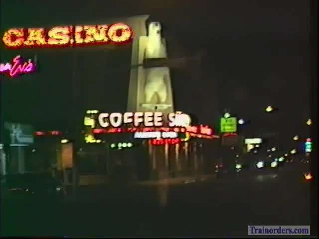 Nightime Elko Nevada 8-12-1992 cruise thru town