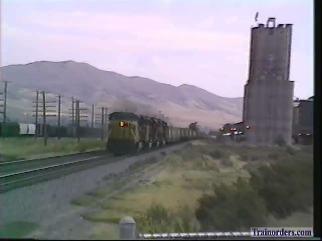West Pocatello,Idaho, 8-20-1992 WB UP Stack with SOO unit!