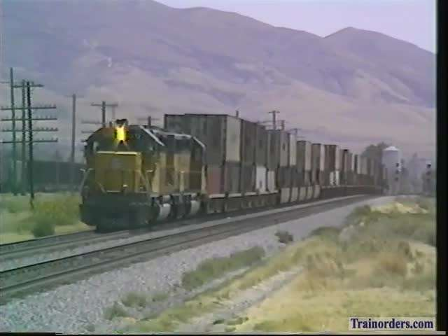 West Pocatello,Idaho, 8-20-1992 UP Short Stack