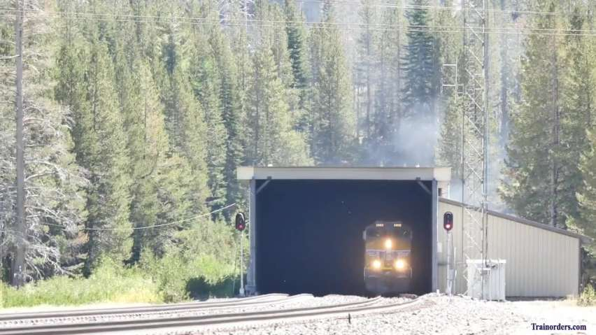 Yesterday at Tunnel 41 on Donner Pass