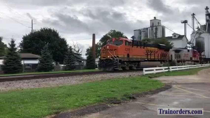9/15/19 CN Train 280 with a Warbonnet on the go!