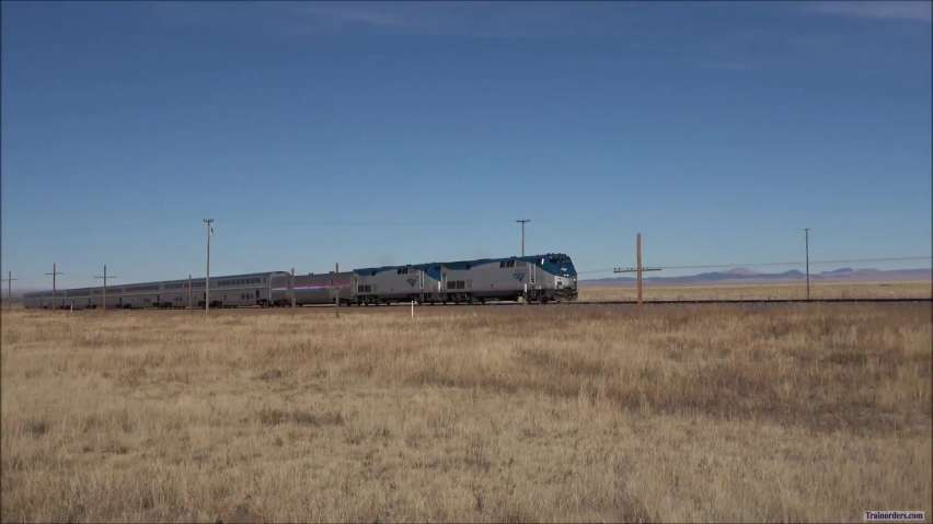 Southwest Chief at Robinson, NM.