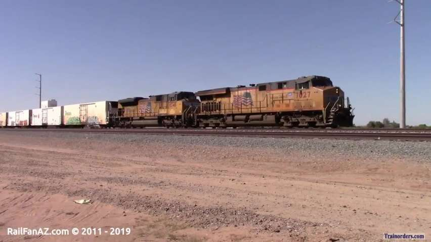 UP 7827 East (ZLAGN-07) - 2018.04.07 @ 3:34 PM