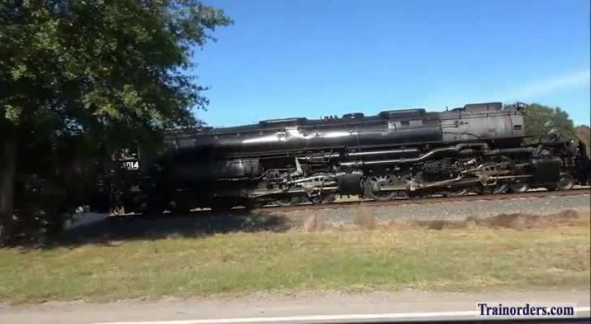 UP #4014 Troup to Marshall, Texas