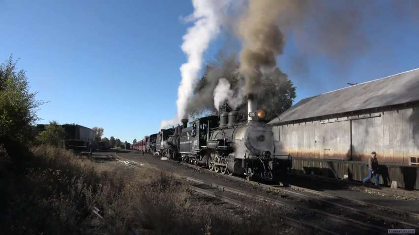 Cumbres and Toltec three of the best