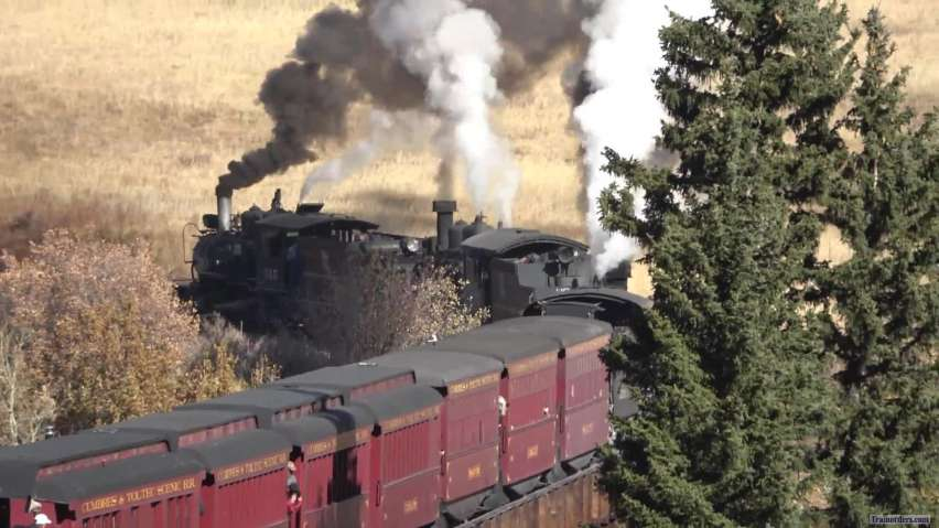Cumbres and Toltec ...Triple Stack Talk ...bonus