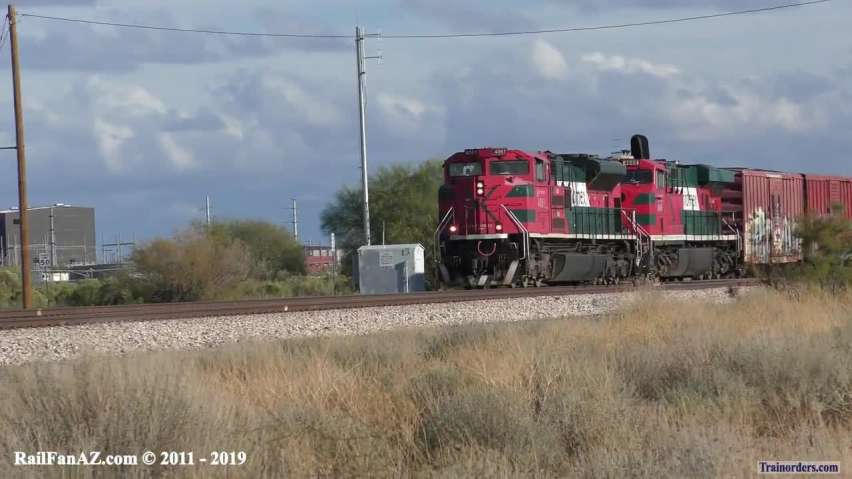 FXE Monster Manifest on the UP Gila Sub - 11/29/2019 (2x2x2)