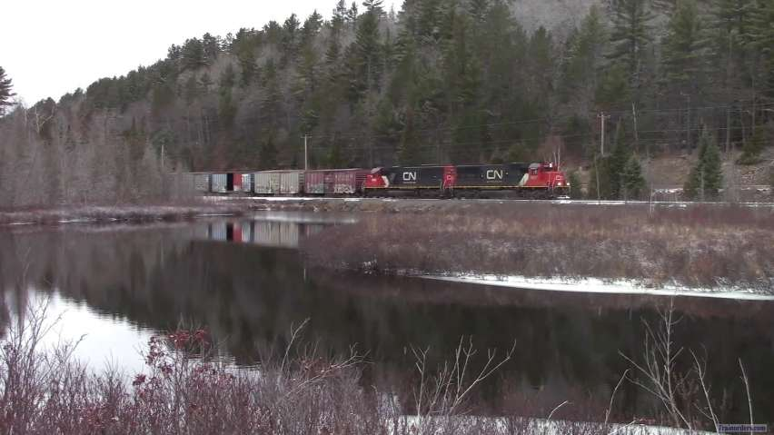 The UP is scenic place to railfan...if you can find a train.