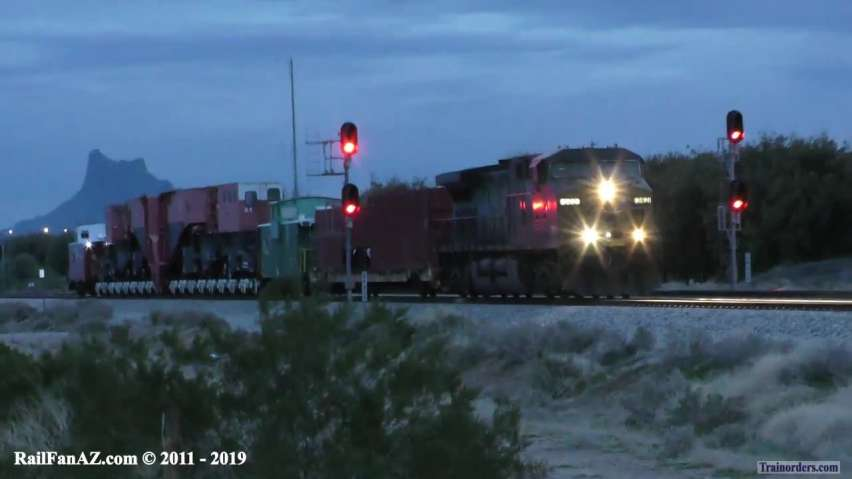 The Westbound Schnabel on the Gila Sub Video!