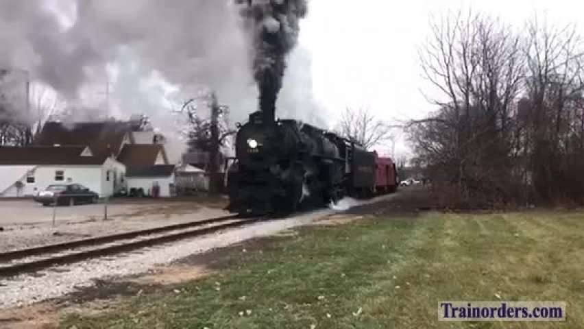 """12/7/19 Pere Marquette 1225 Breaks out for the """"North Pole!!"""""""