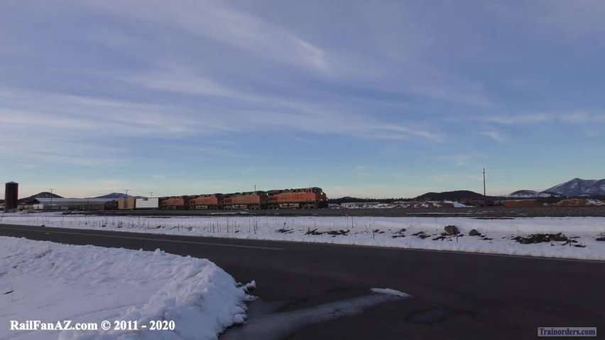 BNSF Action on 01/04/2020!