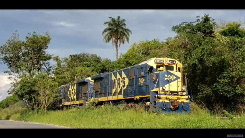 Followig train O781 (Brazil)